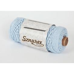 Błękitny sznurek bawełniany...