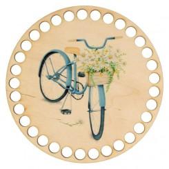 Baza koszyka - nadruk, koło...