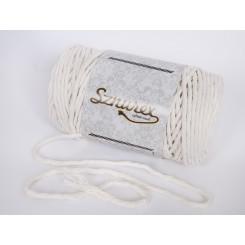 Ecru sznurek bawełniany 5mm...