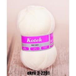 Kotek Ecrii 2-2201 100g/300m